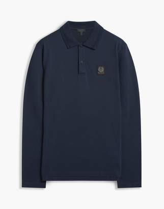 Belstaff Selbourne Polo Ls Man Black