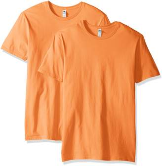 Fruit of the Loom Men's Crew T-Shirt (2 Pack)