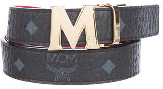 MCMMCM Visetos Logo Belt