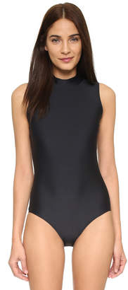 Cover Sleeveless Swimsuit $170 thestylecure.com