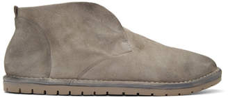 Marsèll Grey Suede Loafers