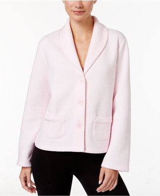 Charter Club Quilted Bed Jacket, Only at Macy's $54 thestylecure.com