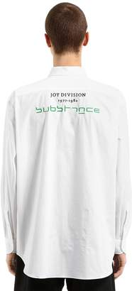 Raf Simons Joy Division Substance Poplin Shirt