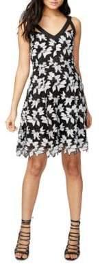 Rachel Roy Lace Fit-&-Flare Dress