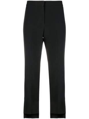 Alexander McQueen cropped stripe trousers