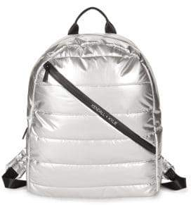 KENDALL + KYLIE Quilted Metallic Dome Backpack