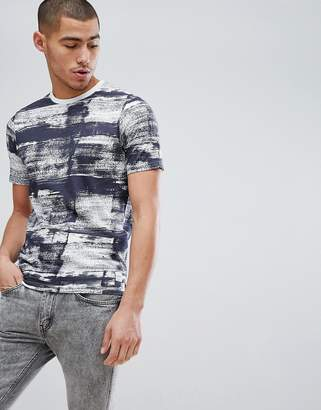ONLY & SONS T-Shirt With Painted Stripe