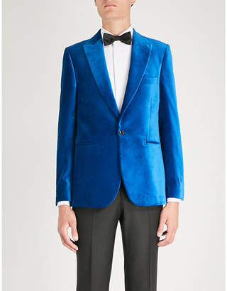 Paul Smith Soho-fit velvet evening blazer