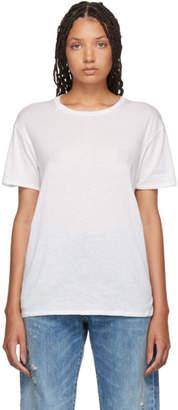 R 13 オフホワイト Boy T シャツ