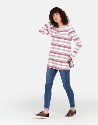 Joules Clothing Jemma Longline jersey top with side vents