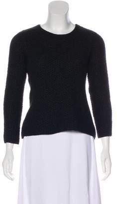 Isabel Marant Knit Angora & Linen-Blend Sweater