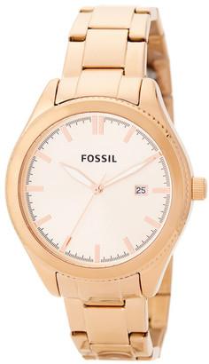 Fossil Women's Casual Bracelet Watch $135 thestylecure.com