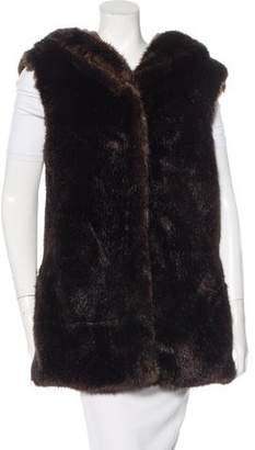 Thakoon Addition Faux Fur Vest w/ Tags