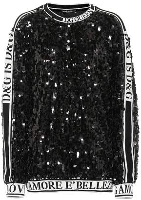 Dolce & Gabbana Sequined sweatshirt