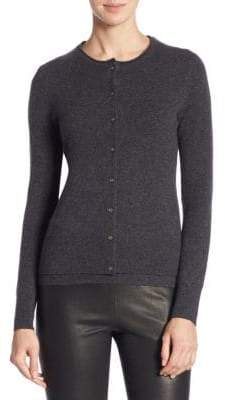 Saks Fifth Avenue COLLECTION Long-Sleeve Cashmere Cardigan