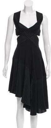 Stella McCartney Embroidered Cutout Dress