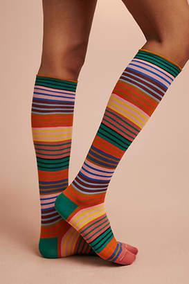 Bonne Maison Linework Knee-High Socks
