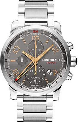 Montblanc Timewalker ChronoVoyager UTC Men's Stainless Steel Swiss Automatic Watch 107303