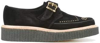 Rupert Sanderson buckled platform loafers