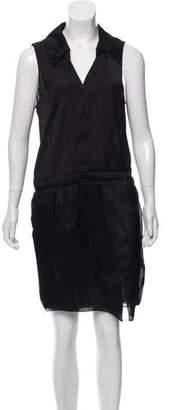 Nina Ricci Sleeveless Knee-Length Dress