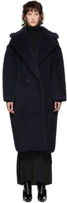 Max Mara Navy Alpaca Ginnata Coat