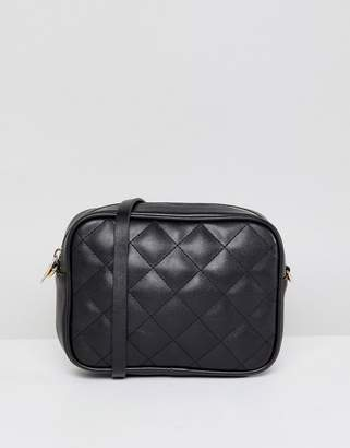 Monki Quilted Cross Body Bag