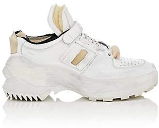 Maison Margiela Women's Leather Chunky Low-Top Sneakers - White