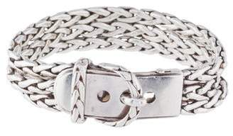 Hermes Three Strand Buckle Bracelet