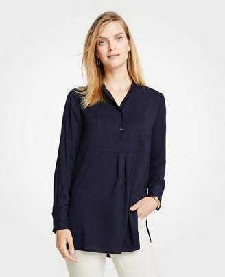 Ann Taylor Tall Bib Tunic Top