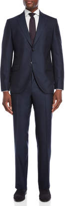 Luigi Bianchi Mantova Two-Piece Navy Wool Suit