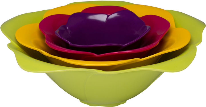 Zak Designs 4-pc. Rose Bowl Set