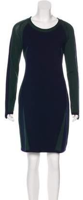 Timo Weiland Knee-Length Rib Knit Dress