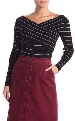 Cotton On Romy Criss-Cross Wrap Sweater