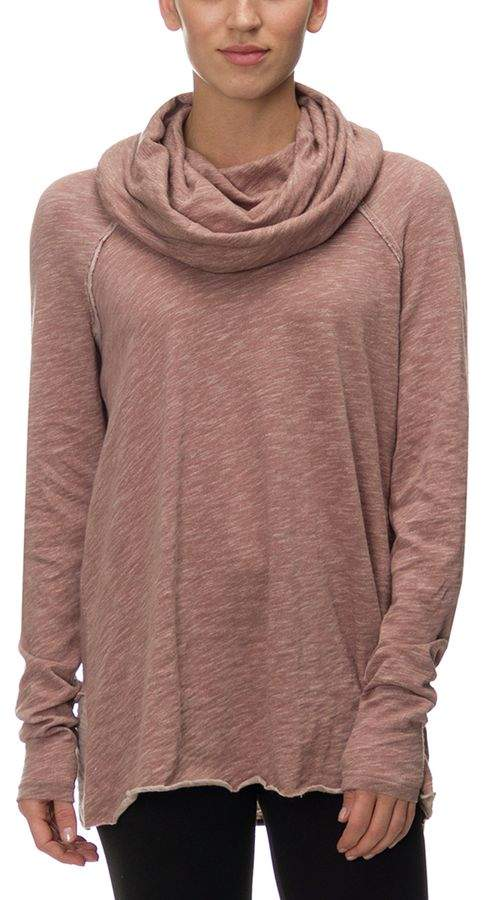 Free People Beach Cotton Cocoon Cowl Pullover