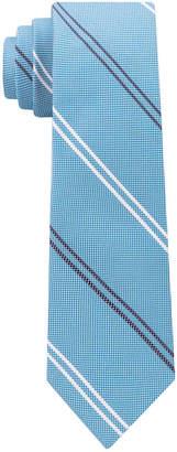 Tommy Hilfiger Men's Uptown Stripe Silk Slim Tie