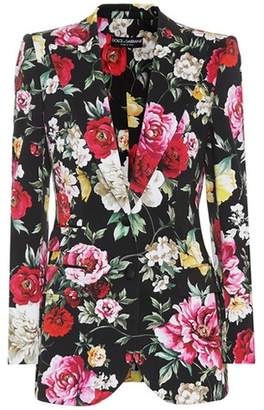 Dolce & Gabbana Floral-print blazer