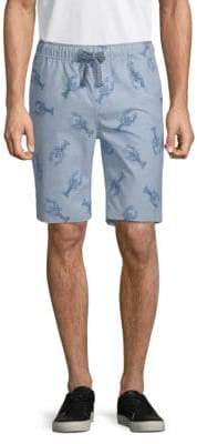 Sovereign Code Plot Lobster Cotton Shorts