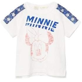 MANGO Sequins Minnie Mouse t-shirt