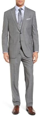 Men's Peter Millar Classic Fit Plaid Wool Suit $795 thestylecure.com