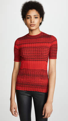 Helmut Lang Stripe Crew Neck Sweater
