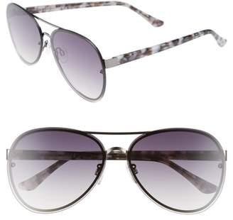 Chelsea28 Straight Flush 64mm Aviator Sunglasses