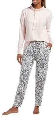Hue Misty Skim Knit Jersey Two-Piece Pyjama Set