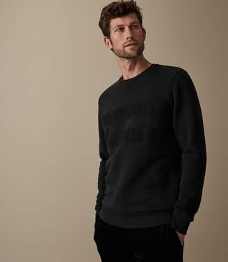 Reiss Alec Tonal Chest Stripe Sweatshirt