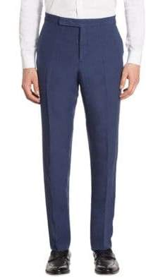 Ralph Lauren Anthony Classic-Fit Silk & Linen Pants