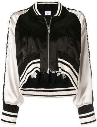 Puma Maison Yasuhiro embroidery cropped bomber jacket