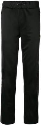 Plein Sport drawstring waist track pants