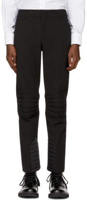 Moncler Black Padded Ski Trousers