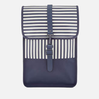 Rains Women's Mini Backpack - Distorted Stripes