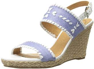 47c2841590f4 at Amazon.com · Jack Rogers Women s Vanessa Raffia Wedge Sandal