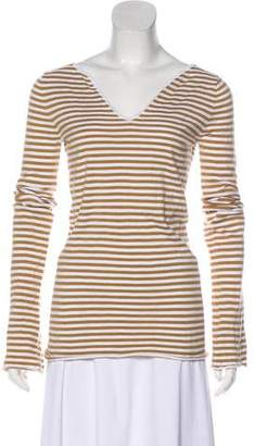 Minnie Rose Striped Long Sleeve Top